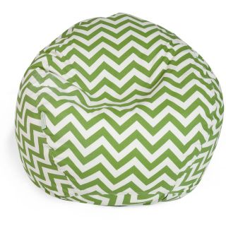 Majestic Home Goods Zig Zag Small Bean Bag   Bean Bags