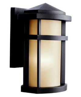 Kichler Lantana Outdoor Wall Lantern   10.5H in. Architectural Bronze   ENERGY STAR   Outdoor Wall Lights