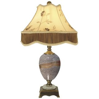 Dale Tiffany Granite Stone Table Lamp   Tiffany Table Lamps