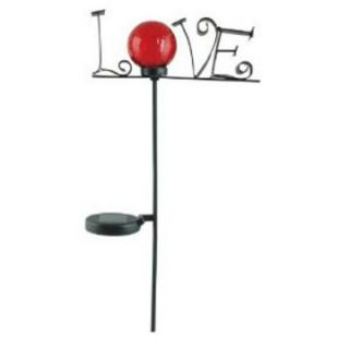 Moonrays Solar Powered Color Changing LED Love Stake Light   Solar Lights
