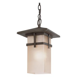 Trans Globe 40014 AR Hanging Lantern   Antique Rust   8.5W in.   Outdoor Hanging Lights
