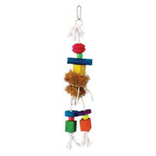 Prevue Pet Products Tropical Teasers Medium Hula Doll Bird Toy   Bird Cage Accessories