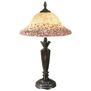 Dale Tiffany Cassidy Mosaic Table Lamp   Tiffany Table Lamps