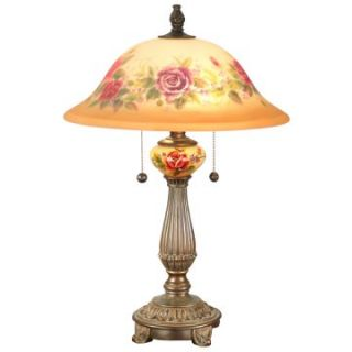 Dale Tiffany Rose Porcelain Table Lamp   Tiffany Table Lamps