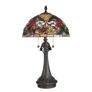 Dale Tiffany Rose Garden Tiffany Table Lamp   Tiffany Table Lamps