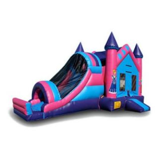 EZ Inflatables Princess 3 In1 Combo Bounce House   Commercial Inflatables