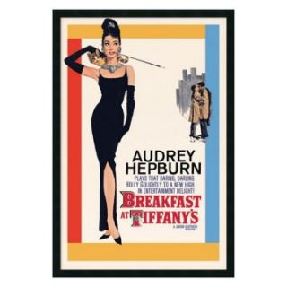 Audrey Hepburn   Breakfast at Tiffany's Framed Wall Art   25.41W x 37.41H in.   Framed Wall Art