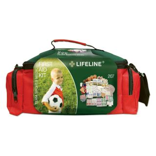 Lifeline Team Sports Medic First Aid Kit   207 Pieces   First Aid Kits