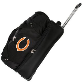 Chicago Bears 27 Rolling Duffel Bag
