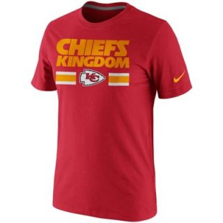 Nike Kansas City Chiefs Kingdom T Shirt   Red