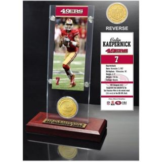 Colin Kaepernick San Francisco 49ers Acrylic Desktop Ticket Display Case with Bronze Coin
