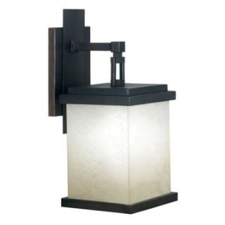 Kenroy Home Plateau Outdoor Wall Lantern   18H in. Oil Rubbed Bronze   ENERGY STAR   Outdoor Wall Lights