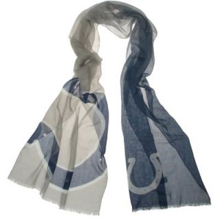 Indianapolis Colts Ladies Gradient Scarf   Gray/Navy Blue