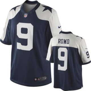 Nike Tony Romo Dallas Cowboys Throwback Limited Jersey   Navy Blue
