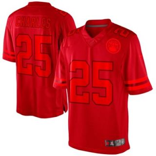 Nike Jamaal Charles Kansas City Chiefs Drenched Limited Jersey   Red