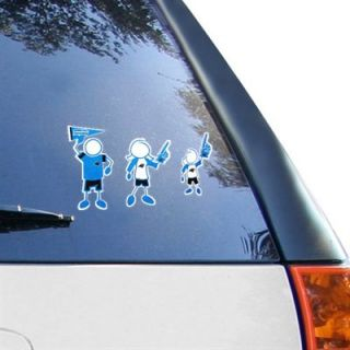 Carolina Panthers 12 x 12 Family Car Decal Sheet