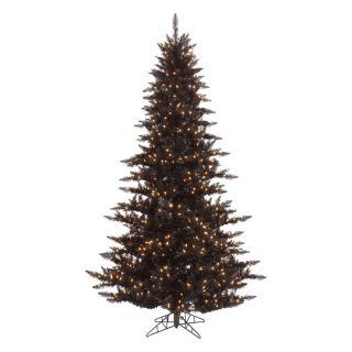 Vickerman Black Fir Pre lit Christmas Tree   Christmas Trees