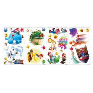 Nintendo   Super Mario Peel and Stick Wall Decals   Wall Decals