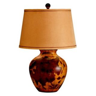 Kichler Antique Map 70803CA Table Lamp   15 in.   hand painted porcelain   Table Lamps