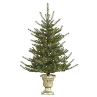 Vickerman 5 ft. Potted Colorado Pre Lit LED Christmas Tree   Christmas Trees