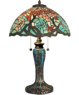 Dale Tiffany Cobweb Tiffany Table Lamp   Tiffany Table Lamps