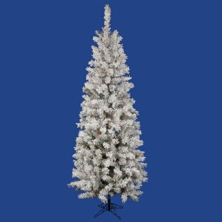 Vickerman Flocked Pacific Pre lit Multi LED Christmas Tree   Christmas Trees