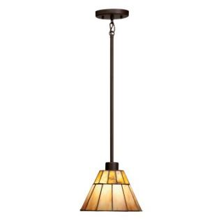 Kichler 65354 Morton Tiffany 1 Light Mini Pendant   9W in. Olde Bronze   Tiffany Ceiling Lighting