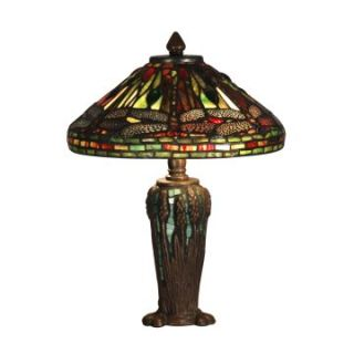Dale Tiffany Dragonfly Jewel Tiffany Table Lamp   Tiffany Table Lamps