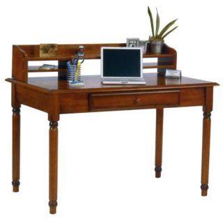 Knob Hill Laptop / Writing Desk with Optional Hutch   Writing Desks