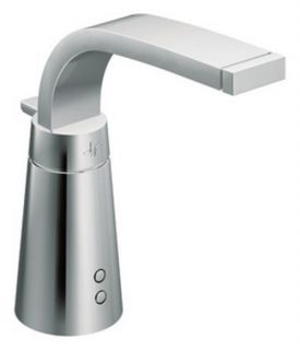 Moen Destiny S899 Hands Free Single Hole Bathroom Sink Faucet   Chrome   Bathroom Sink Faucets