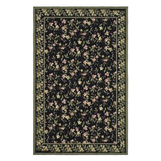 Safavieh Wilton WIL331B Area Rug   Black/Green   Area Rugs
