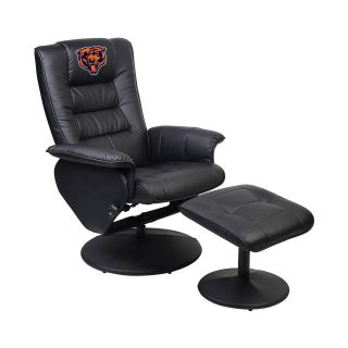 Imperial International NFL Faux Leather Recliner with Ottoman   Recliners
