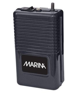 Marina Battery Operated Air Pump   Aquarium Supplies