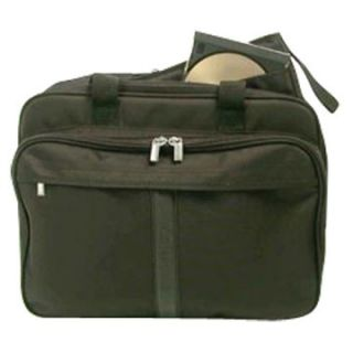 Bond Street Ltd Stebco Nylon Deluxe Laptop Briefcase   Black   Briefcases & Attaches
