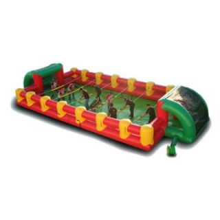 EZ Inflatables Inflatable Foosball Game Bounce House   Commercial Inflatables