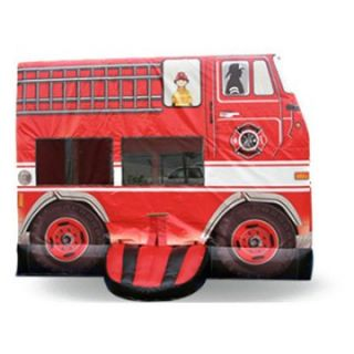 EZ Inflatables Fire Engine Bounce House   Commercial Inflatables