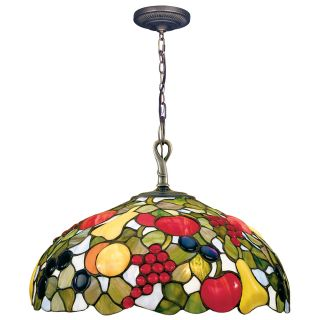 Dale Tiffany Fruit with Jewels Hanging Light   16W in.   Tiffany Ceiling Lighting