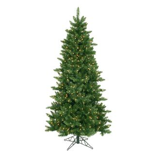 6.5 ft. Camdon Fir Slim Pre lit Christmas Tree   Christmas Trees