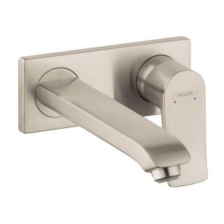 Hansgrohe Metris E 31086 Wall Mount Bathroom Faucet   Bathroom Sink Faucets