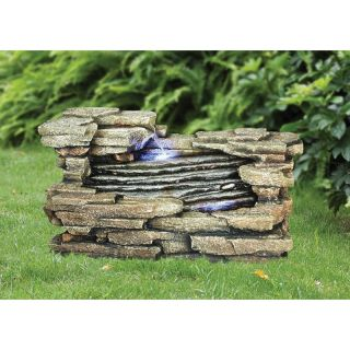 Design Toscano Chestnut Ridge Cascading Garden Fountain   Fountains