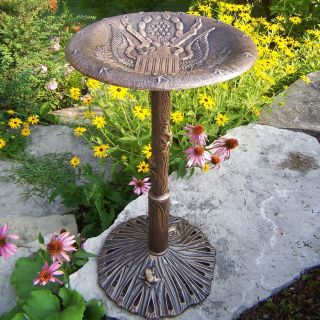 Oakland Living American Eagle Bird Bath   Bird Baths