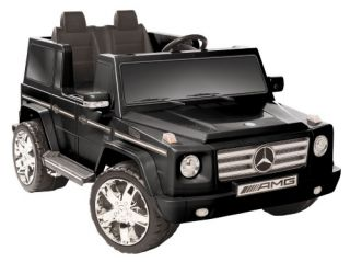 Kid Motorz Mercedes Benz G55 AMG Two Seater Battery Powered Riding Toy   Black   Battery Powered Riding Toys