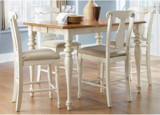 Liberty Furniture Ocean Isle Counter Height Table   Dining Tables