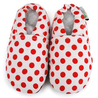 Red Dot Baby Soft Sole Canvas Shoe Augusta Products Girls' Shoes