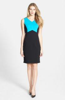 Kenneth Cole New York Andrea Colorblock Sheath Dress