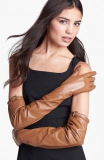 MICHAEL Michael Kors Long Leather Gloves