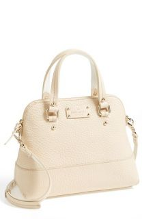 kate spade new york small grove court maise leather satchel