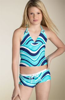 Seafolly Girl Halter Tankini Swimsuit (Big Girls)