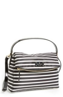 kate spade new york little minka stripe   nylon satchel