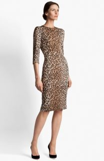 Dolce&Gabbana Leopard Print Dress